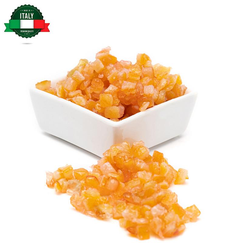 Arancia candita a cubetti